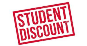 Using Student Discount